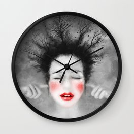 The noise of the world Wall Clock