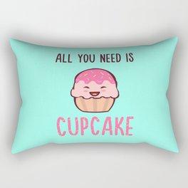 Cupcake is LIFE Rectangular Pillow