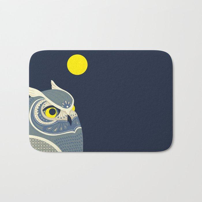 Night Owl Bath Mat