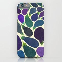 Eggplant's party iPhone Case
