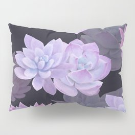 Succulents and lotuses Pillow Sham