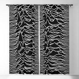 Joy Division - Unknown Pleasures Blackout Curtain