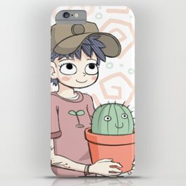 Cactus Gal iPhone Case