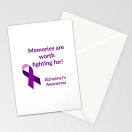 Alzheimer Awareness Stationery Cards