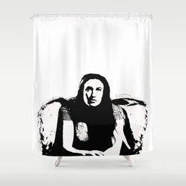 """""""Poisonous"""" Shower Curtain"""