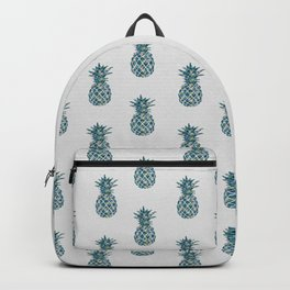 Pineapple Teal Backpack