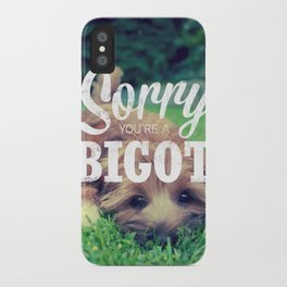 Sorry! iPhone Case