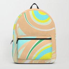Abtsract Wave Pattern Backpack