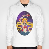 sailor moon Hoodies featuring Sailor moon by Tae V