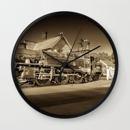Loco Motion Wall Clock