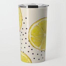 Lemon and Poppy Seeds Travel Mug