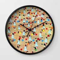 dance Wall Clocks featuring DANCE by Ben Giles