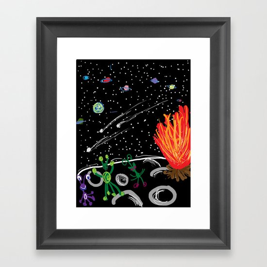 """Where Are We?""  by Aimee G. Framed Art Print"