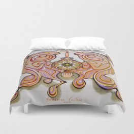 imperial butterfly Duvet Cover