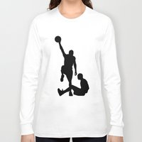 lakers Long Sleeve T-shirts featuring #TheJumpmanSeries, Allen Iverson by @thepeteyrich