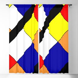 Mondrian #18 Blackout Curtain