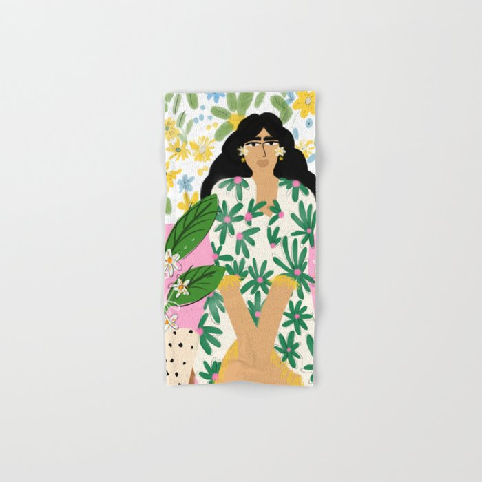 Floral fever Hand & Bath Towel
