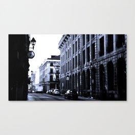 Street - Blue Canvas Print