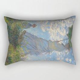 Claude Monet - Woman With A Parasol Rectangular Pillow
