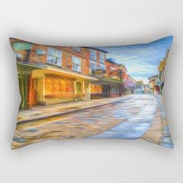 York Shambles Art Rectangular Pillow
