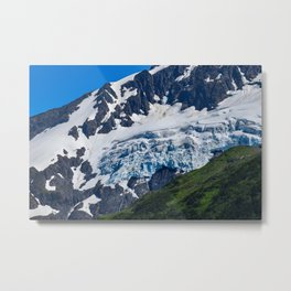 Whittier Glacier - 2 Metal Print