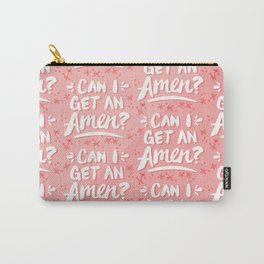 Can I Get An Amen? – Blush Pink Palette Carry-All Pouch