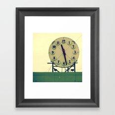 Wasting Time Framed Art Print