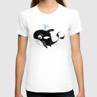 killer whale T-shirts featuring Cute Killer Whale by markmurphycreative