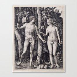 Adam and Eve | Lilith | Biblical Canvas Print