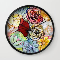 Southern California Garden Wall Clock