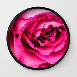 Pink Rose 1 Wall Clock