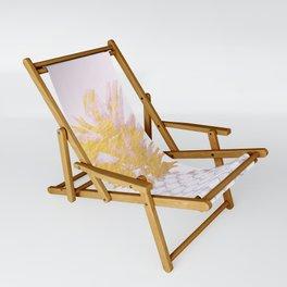 Golden pineapples Sling Chair