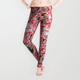 Shuffalo Flamingos Leggings