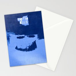 Post No Bills, but smile while doing it Stationery Cards