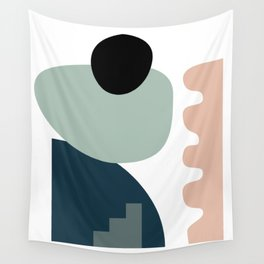 Shape study #18 - Stackable Collection Wall Tapestry