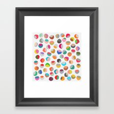 painted chestnuts 1 Framed Art Print