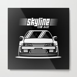 R32 GTR Metal Print
