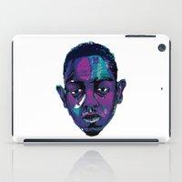 kendrick lamar iPad Cases featuring Control - Kendrick Lamar by SmartyArt Chick
