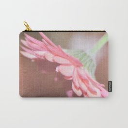 Textured Gerbera Carry-All Pouch