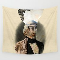 warrior Wall Tapestries featuring Warrior by DIVIDUS