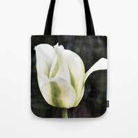 tulip Tote Bags featuring Tulip by Christine baessler