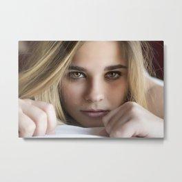 Fotografía retrato Metal Print