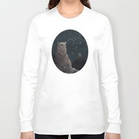 constellation Long Sleeve T-shirts featuring Constellation Bear by Stephanie Piercy