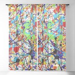 Splat! 1 (Rainbow) Sheer Curtain