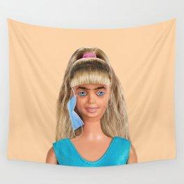 Quarantine Doll Wall Tapestry
