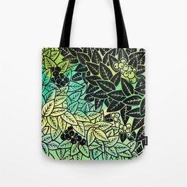 Leafy YingYang Tote Bag