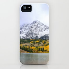 Maroon Bells Fall iPhone Case