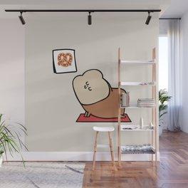 Bread Yoga Goals Wall Mural