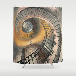 Grand Ascent Shower Curtain