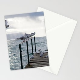winter has arrived Stationery Cards